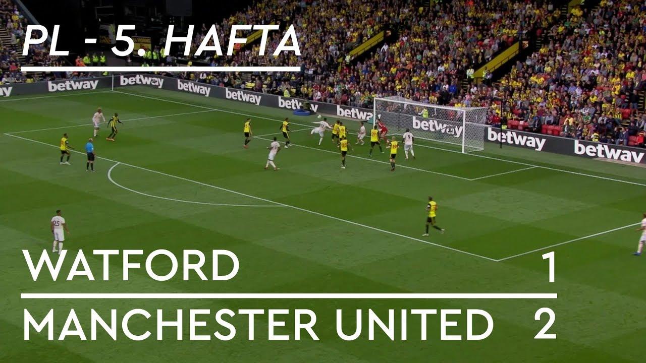 Watford - Manchester United (1-2) - Maç Özeti - Premier League 2018/19