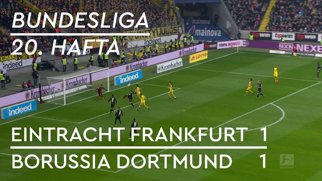 Eintracht Frankfurt - Borussia Dortmund (1-1) - Maç Özeti - Bundesliga - Türkçe Anlatım