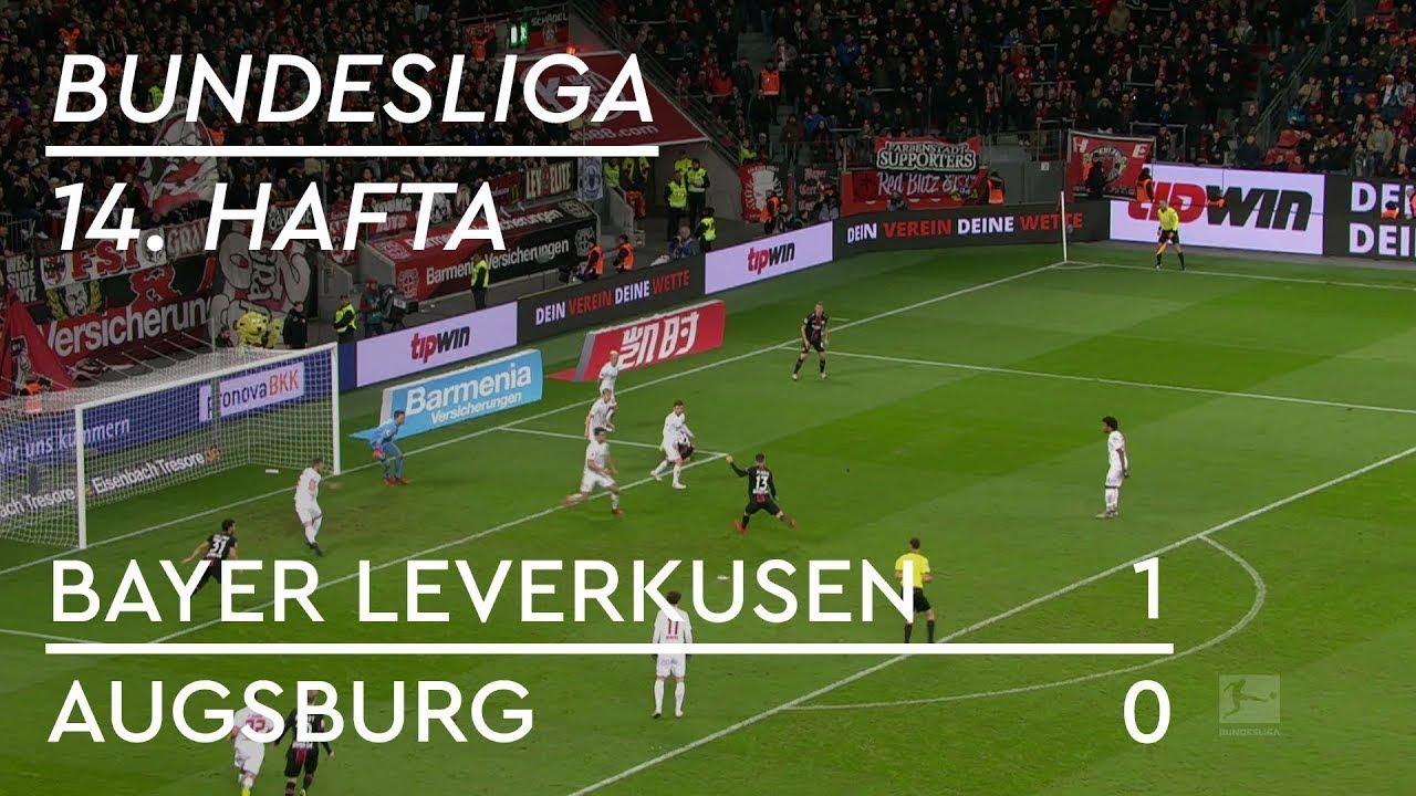 Bayer Leverkusen - Augsburg (1-0) - Maç Özeti - Bundesliga 2018/19 - Türkçe Anlatım