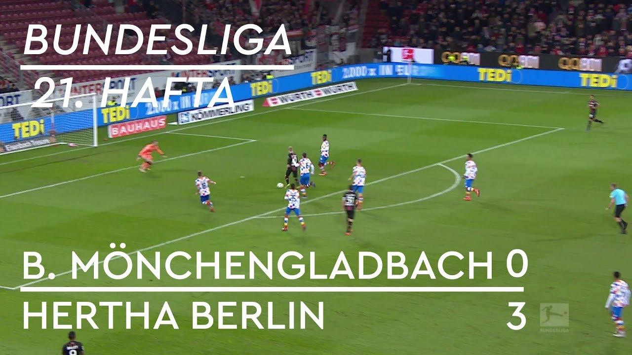 Borussia Mönchengladbach - Hertha Berlin (0-3) - Maç Özeti - Bundesliga 2018/19 - Türkçe Anlatım