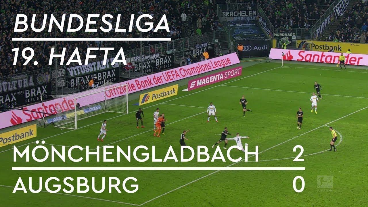 Borussia Mönchengladbach - Augsburg (2-0) - Maç Özeti - Bundesliga 2018/19 - Türkçe Anlatım