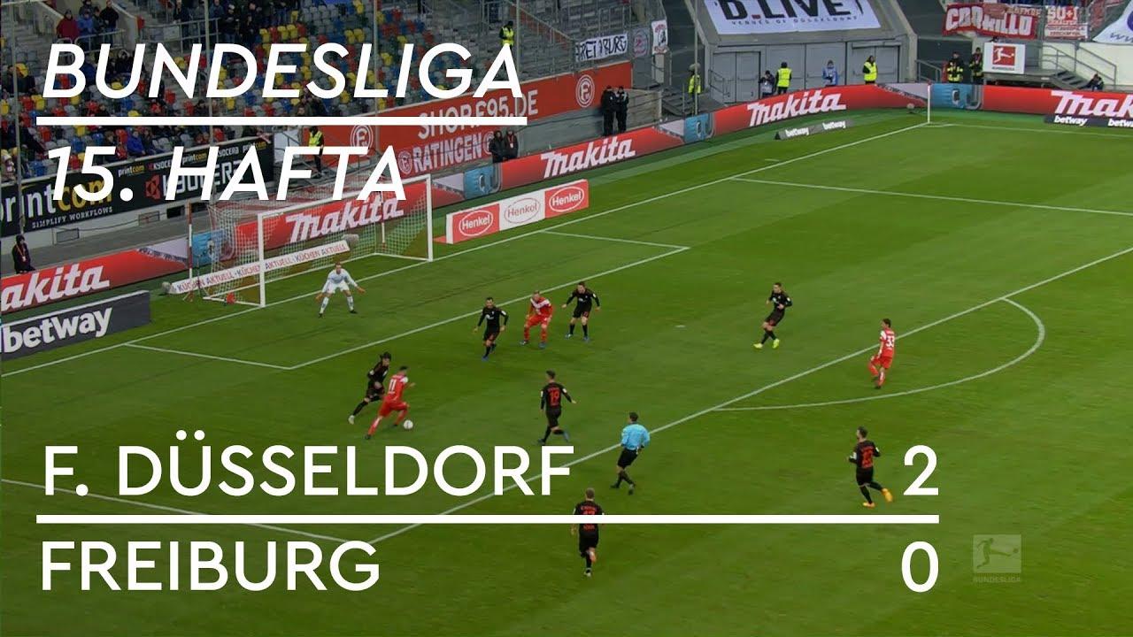 Fortuna Düsseldorf - Freiburg (2-0) - Maç Özeti - Bundesliga 2018/19