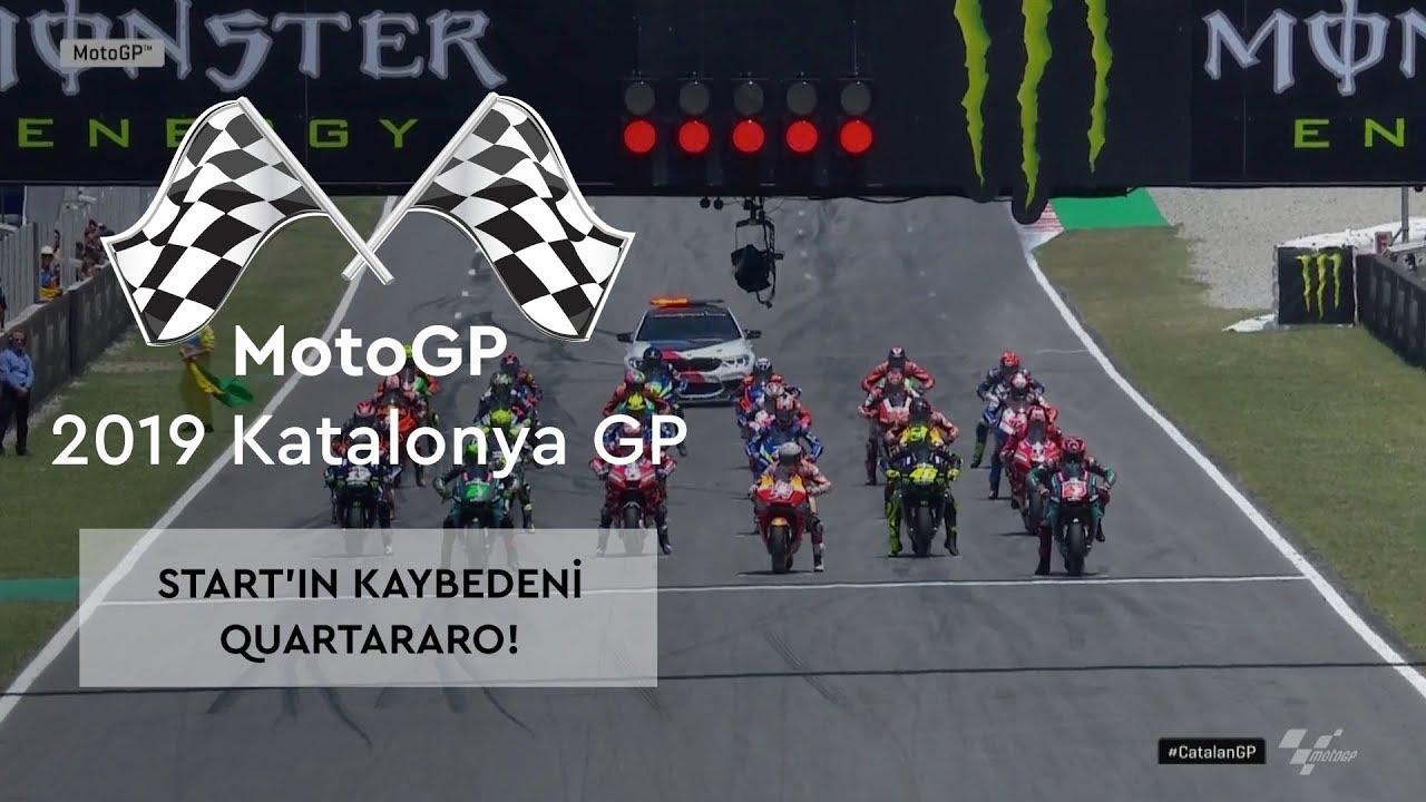 Start'ın Kaybedeni Quartararo! (MotoGP 2019 - Katalonya Grand Prix)