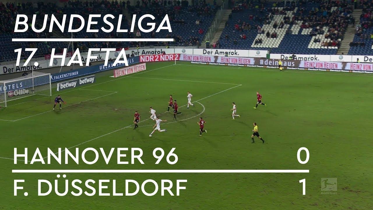 Hannover 96 - Fortuna Düsseldorf (0-1) - Maç Özeti - Bundesliga 2018/19 - Türkçe Anlatım