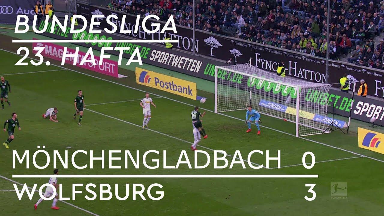 Borussia Mönchengladbach - Wolfsburg (0-3) - Maç Özeti - Bundesliga 2018/19 - Türkçe Anlatım
