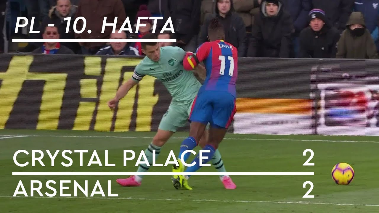 Crystal Palace - Arsenal (2-2) - Maç Özeti - Premier League 2018/19