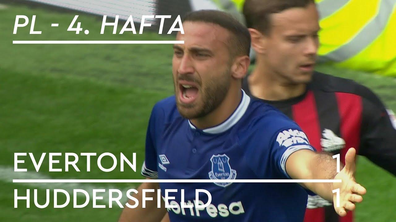 Everton - Huddersfield (1-1) - Maç Özeti - Premier League 2018/19