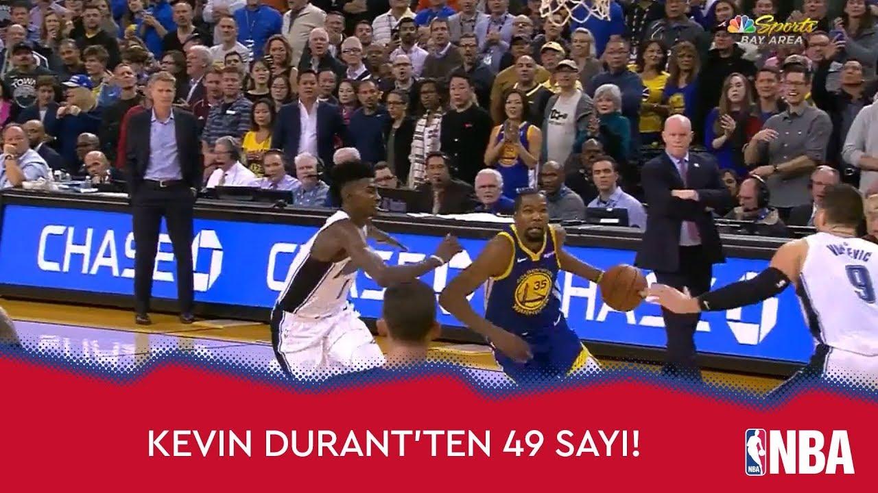 Durant'in 49 Sayısı Galibiyeti Getirdi!