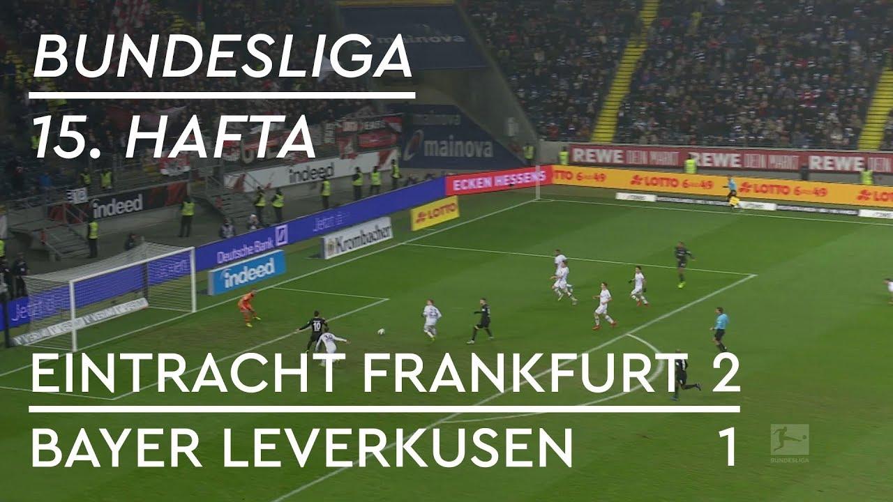 Eintracht Frankfurt - Bayer Leverkusen (2-1) - Maç Özeti - Bundesliga 2018/19