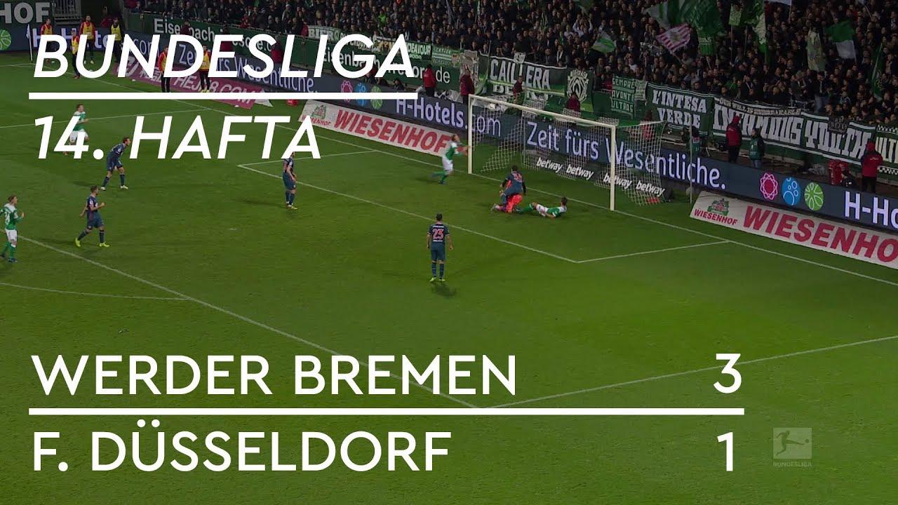 Werder Bremen - Fortuna Düsseldorf (3-1) - Maç Özeti - Bundesliga 2018/19