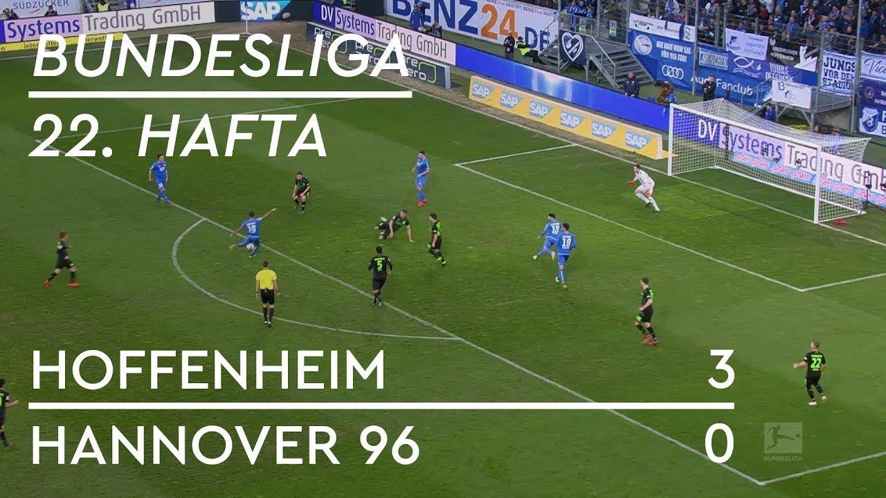 Hoffenheim - Hannover 96 (3-0) - Maç Özeti - Bundesliga 2018/19 - Türkçe Anlatım