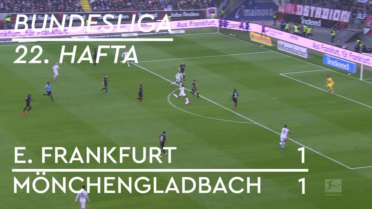Eintracht Frankfurt  - Borussia Mönchengladbach (1-1) - Maç Özeti - Bundesliga 2018/19