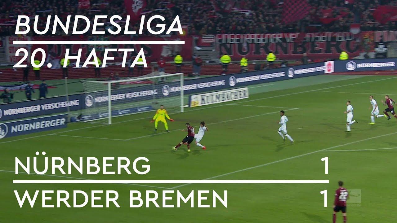 Nürnberg - Werder Bremen (1-1) - Maç Özeti - Bundesliga 2018/19 - Türkçe Anlatım