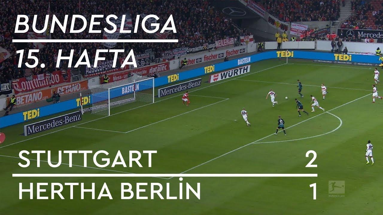 Stuttgart - Hertha Berlin (2-1) - Maç Özeti - Bundesliga 2018/19 - Türkçe Anlatım