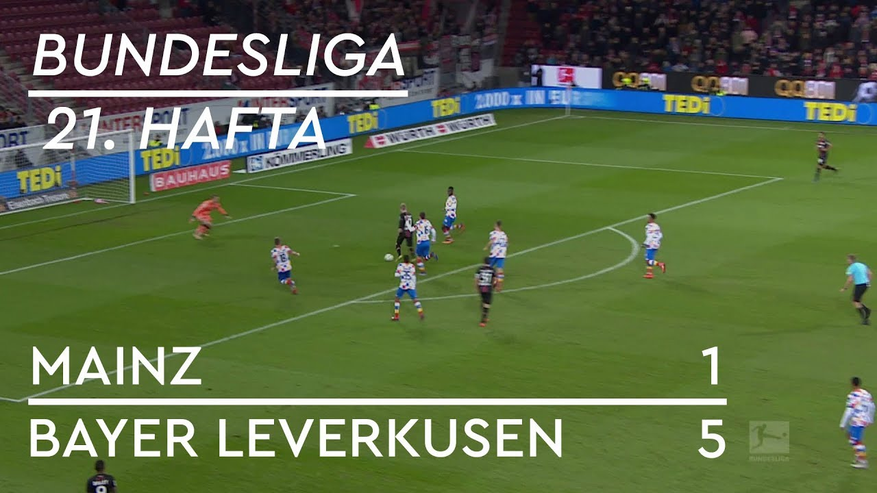 Mainz 05 - Bayer Leverkusen (1-5) - Maç Özeti - Bundesliga 2018/19 - Türkçe Anlatım