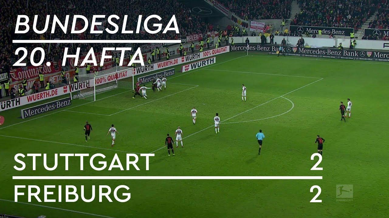 Stuttgart - Freiburg (2-2) - Maç Özeti - Bundesliga 2018/19 - Türkçe Anlatım