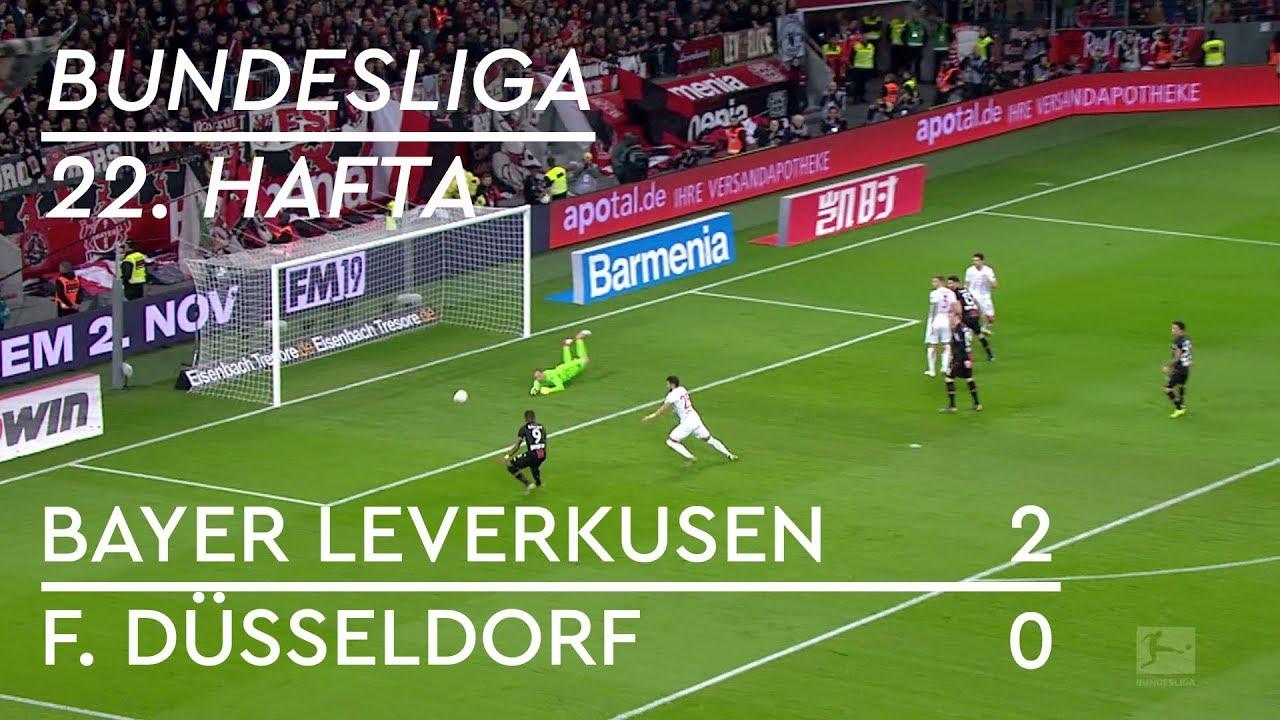 Bayer Leverkusen  - Fortuna Düsseldorf (2-0) - Maç Özeti - Bundesliga 2018/19
