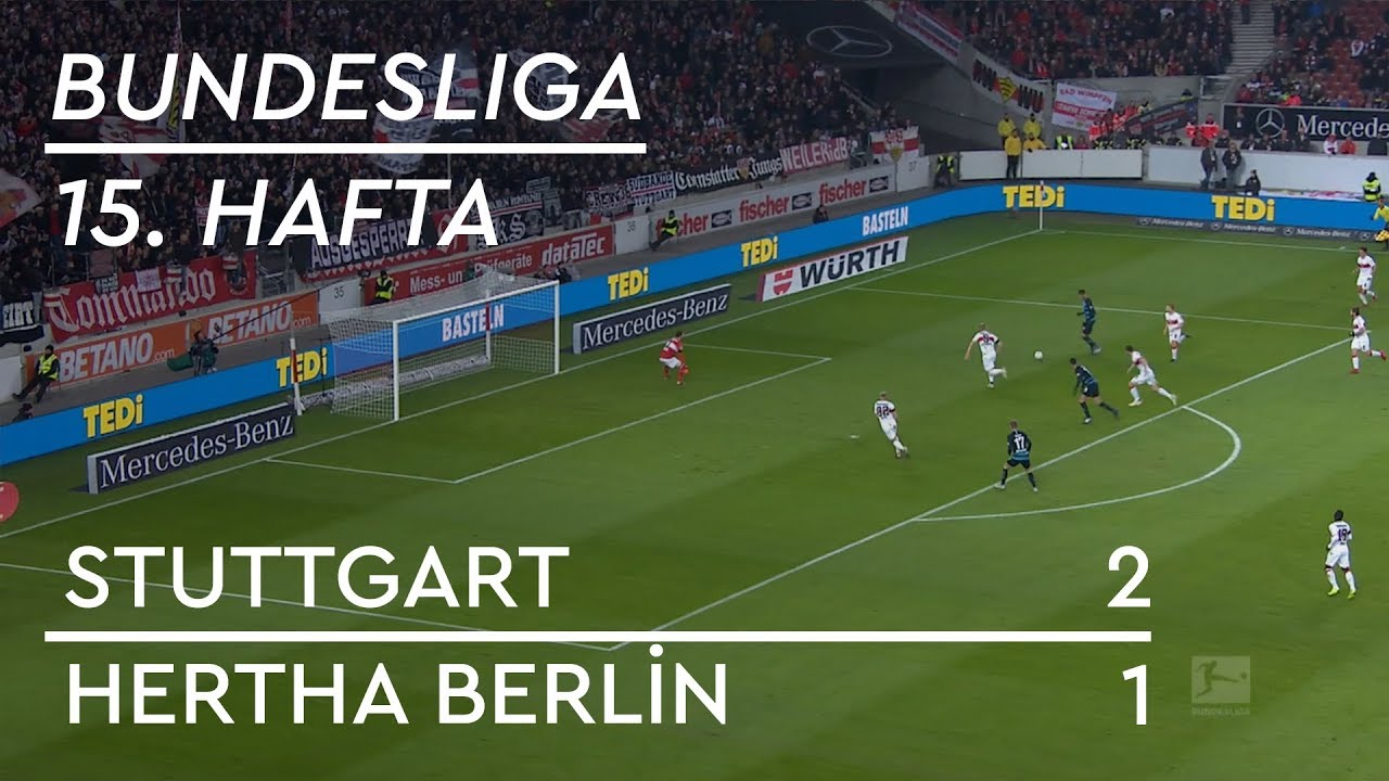 Stuttgart - Hertha Berlin (2-1) - Maç Özeti - Bundesliga 2018/19
