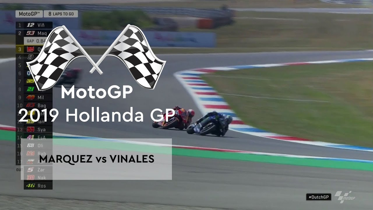 Marquez vs Vinales (MotoGP 2019 - Hollanda Grand Prix)
