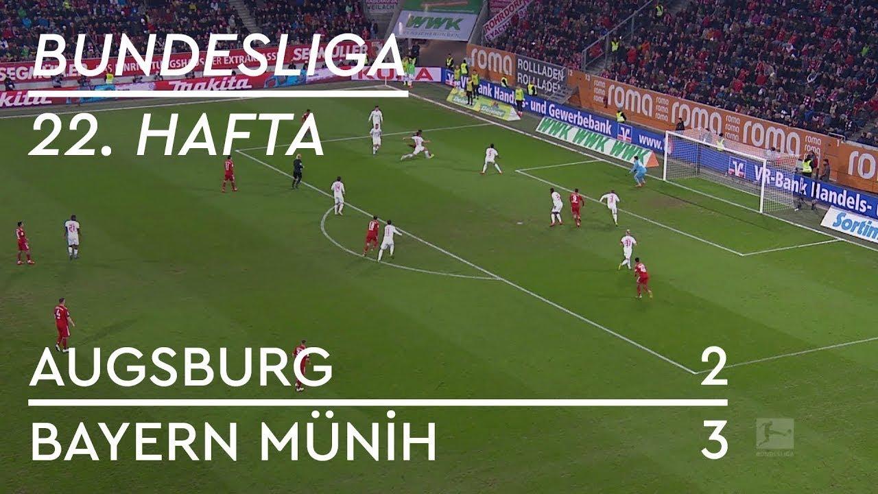 Augsburg - Bayern Münih (2-3) - Maç Özeti - Bundesliga 2018/19 - Türkçe Anlatım