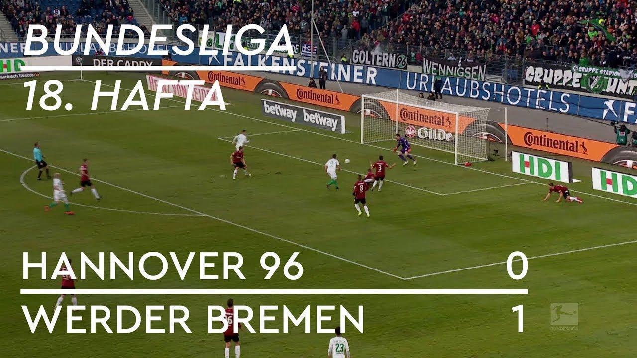 Hannover 96 - Werder Bremen (0-1) - Maç Özeti - Bundesliga 2018/19 - Türkçe Anlatım