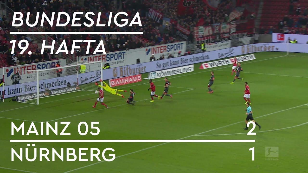 Mainz 05 - Nürnberg (2-1) - Maç Özeti - Bundesliga 2018/19