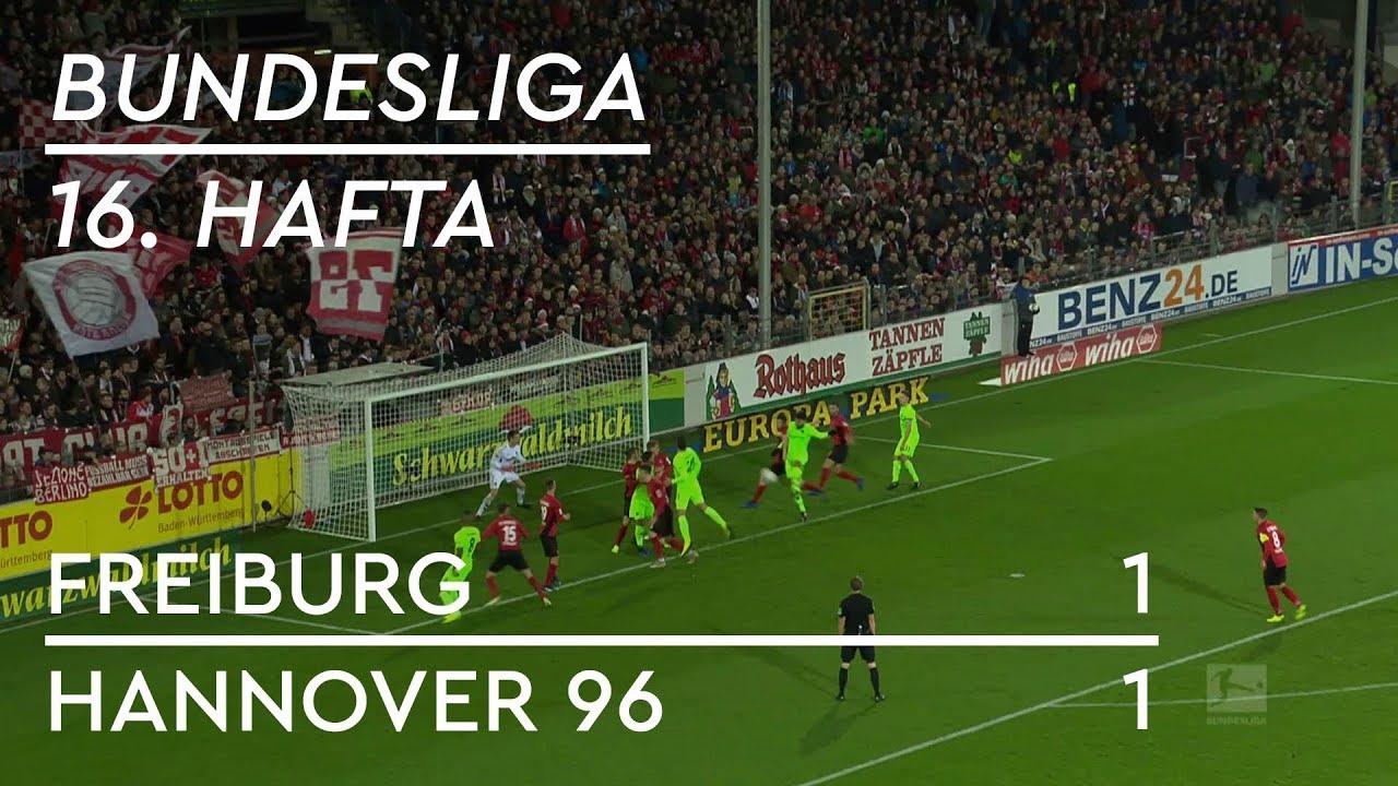 Freiburg - Hannover 96 (1-1) - Maç Özeti - Bundesliga 2018/19 - Türkçe Anlatım