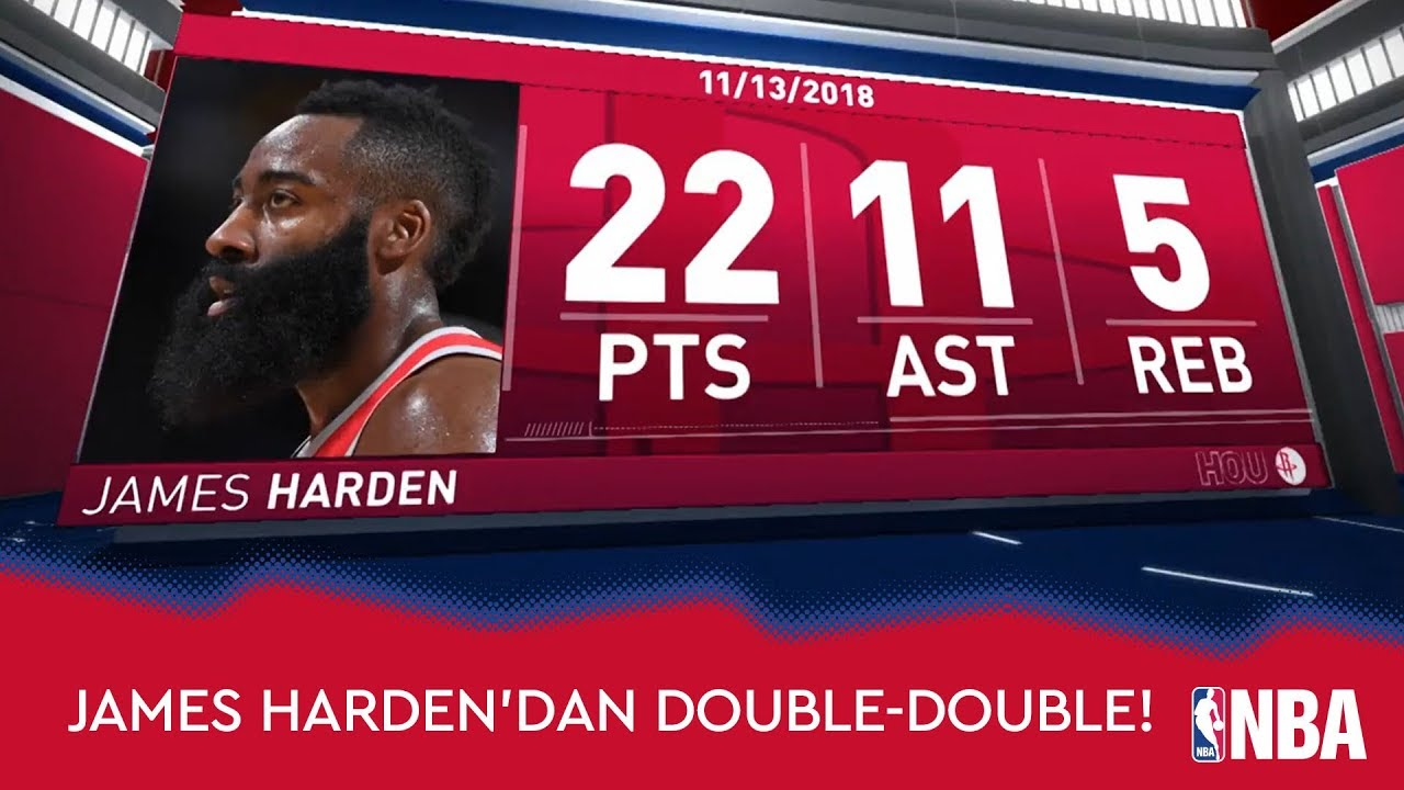James Harden'dan Double-Double!