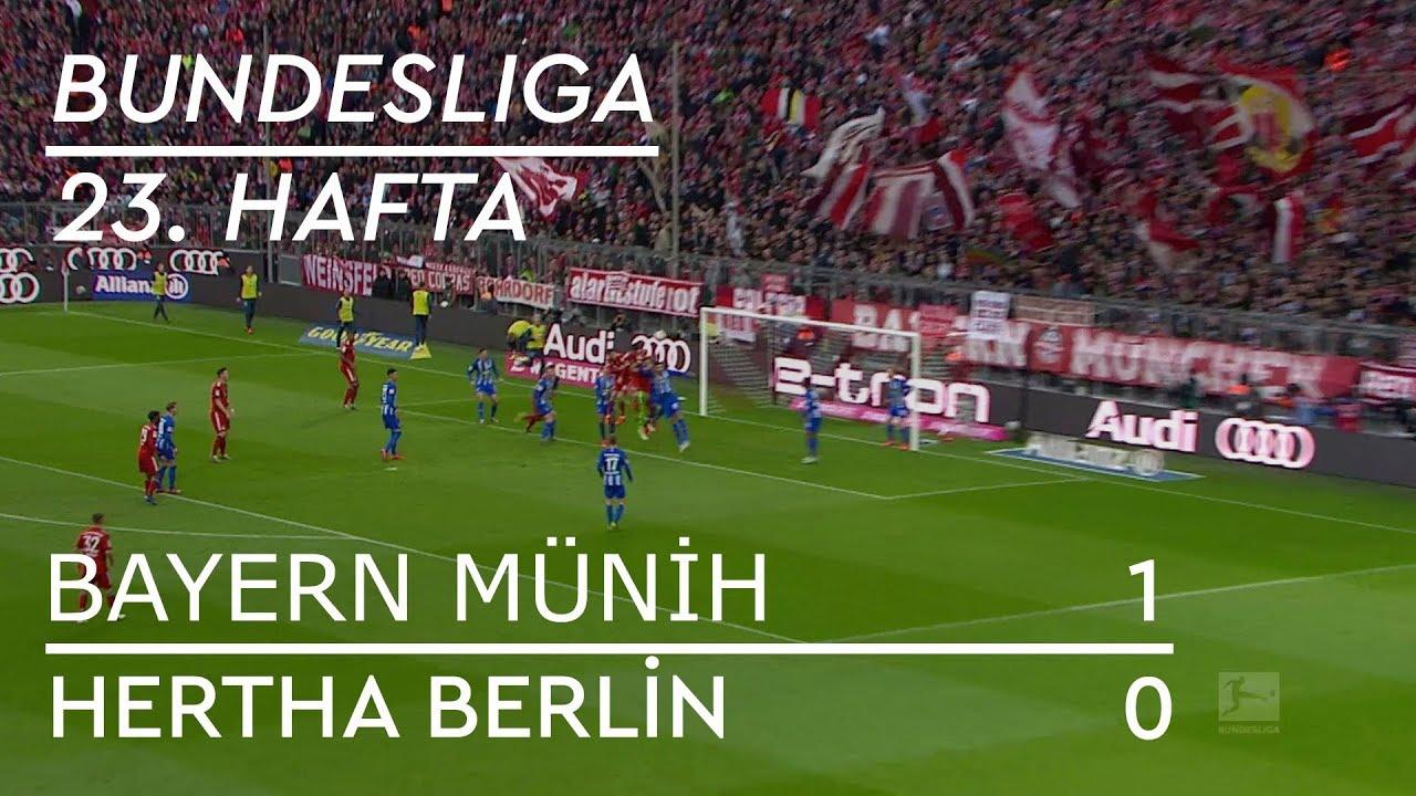 Bayern Münih - Hertha Berlin (1-0) - Maç Özeti - Bundesliga 2018/19 - Türkçe Anlatım