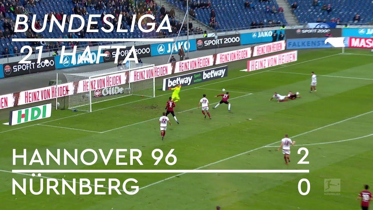 Hannover 96 - Nürnberg (2-0) - Maç Özeti - Bundesliga 2018/19 - Türkçe Anlatım