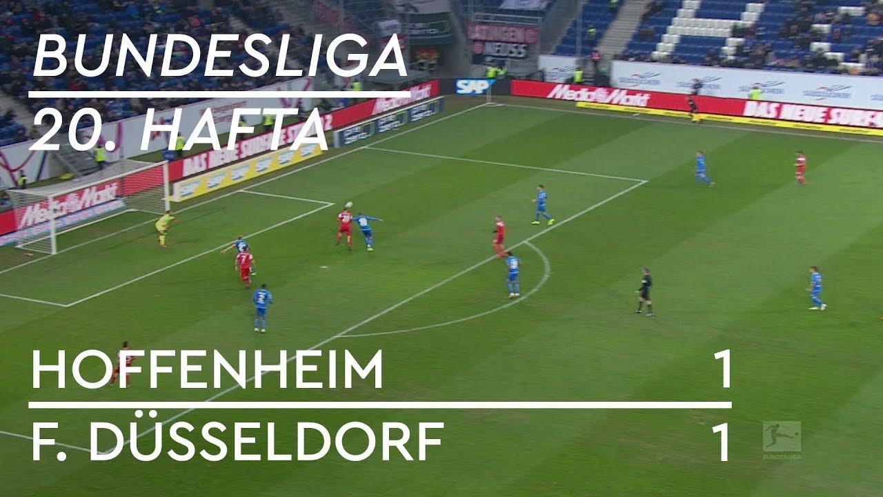 Hoffenheim - Fortuna Düsseldorf (1-1) - Maç Özeti - Bundesliga 2018/19
