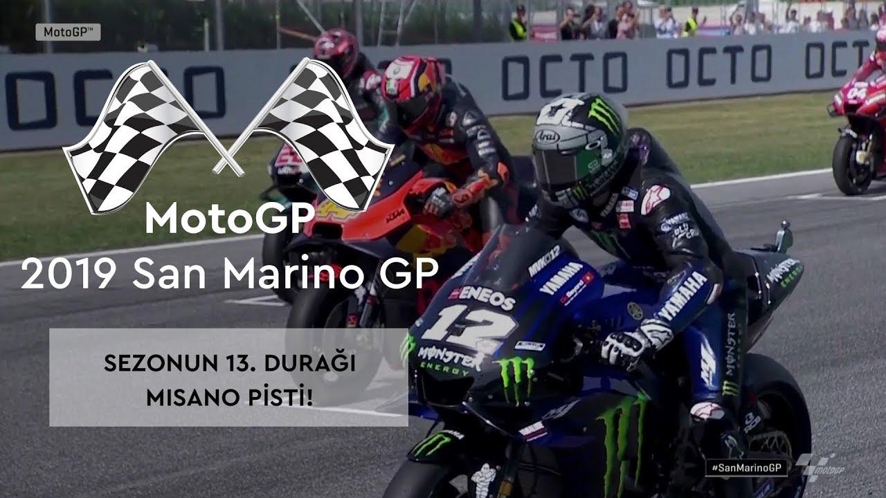 Sezonun 13. Durağı Misano Pisti! (MotoGP 2019 - San Marino Grand Prix)