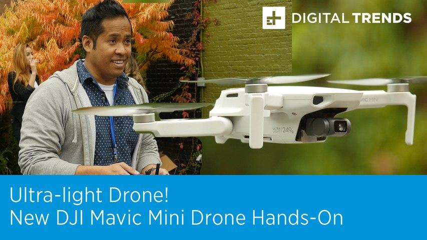 New DJI Mavic Mini Drone Hands-on | Flying Under the FAA Radar