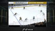 David Krejci Notches First Goal Of Season As Bruins Lead Over Sharks