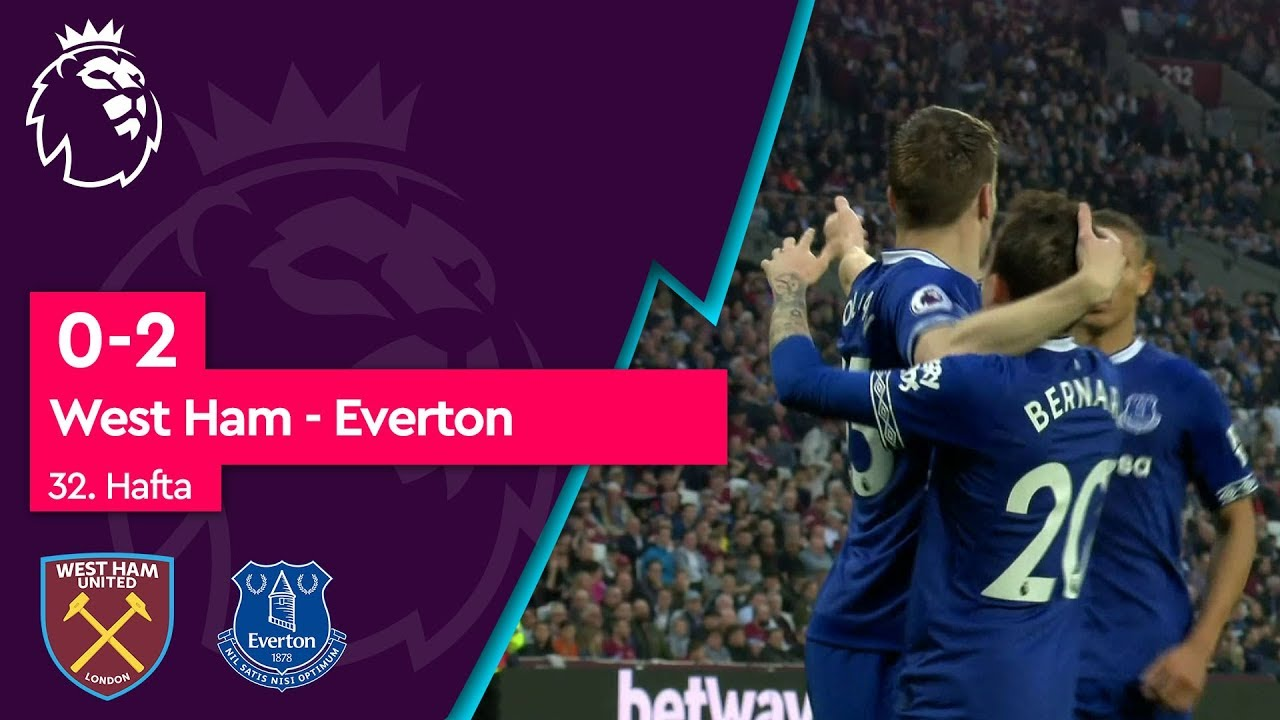 West Ham - Everton (0-2) - Maç Özeti - Premier League 2018/19