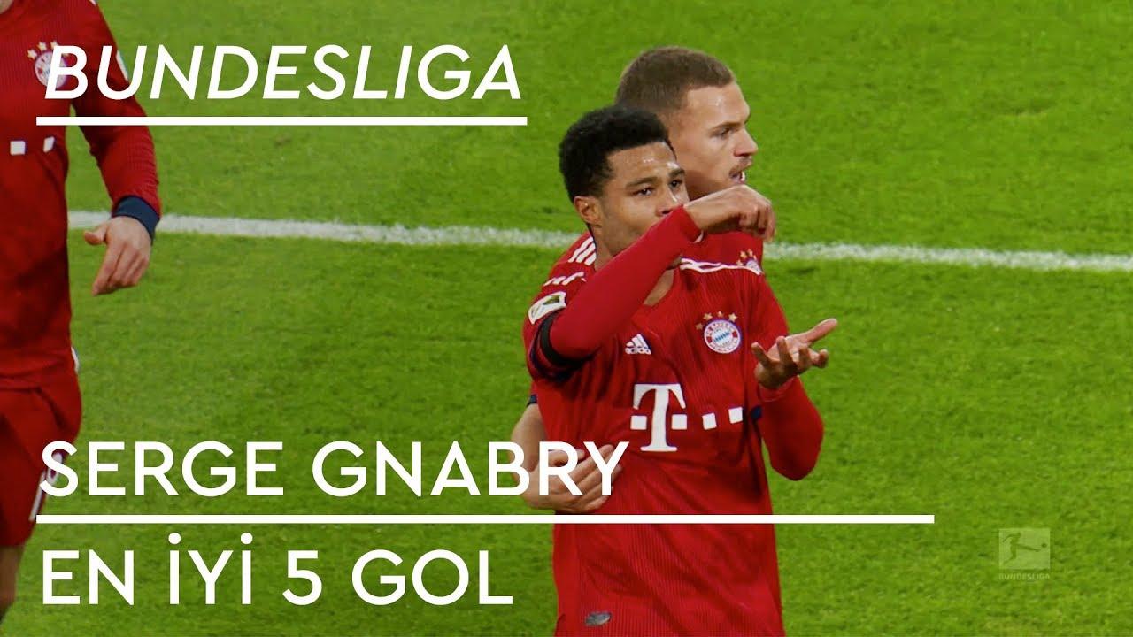 En İyi 5 Gol - Serge Gnabry | Bundesliga