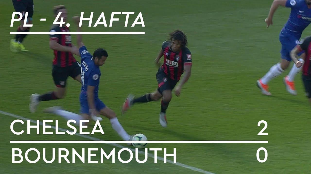 Chelsea - Bournemouth (2-0) - Maç Özeti - Premier League 2018/19