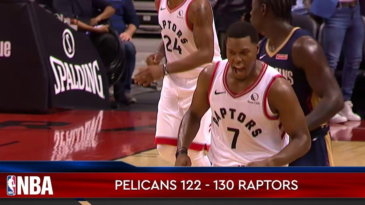 New Orleans Pelicans 122 - 130 Toronto Raptors
