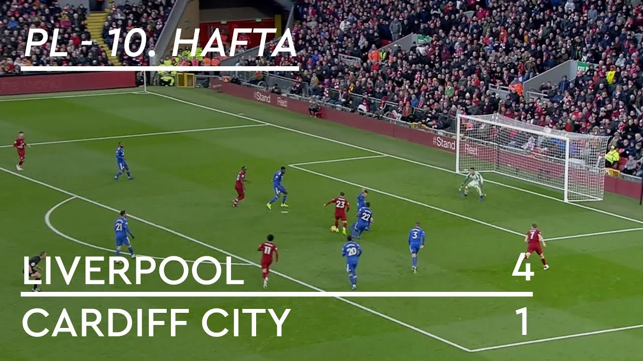 Liverpool - Cardiff City (4-1) - Maç Özeti - Premier League 2018/19