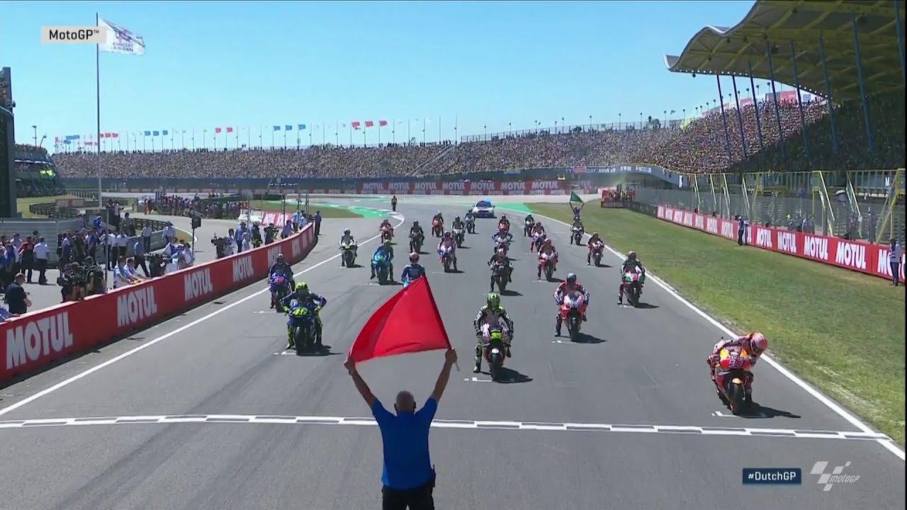 Lorenzo'dan Müthiş Başlangıç! (MotoGP 2018 - Hollanda Grand Prix)