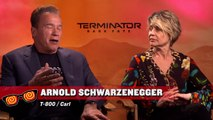 Terminator: Dark Fate - Linda Hamilton and Arnold Schwarzenegger Interview