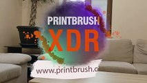 PrintBrush XDR -Color everywhere!