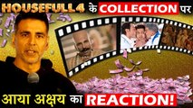 Akshay Kumar Finally Reacts On Response Given By Audience on HOUSEFULL 4!