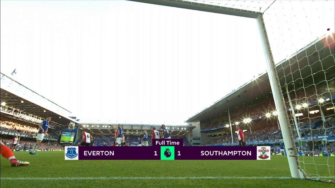Everton - Southampton (1-1) - Maç Özeti - Premier League 2017/18