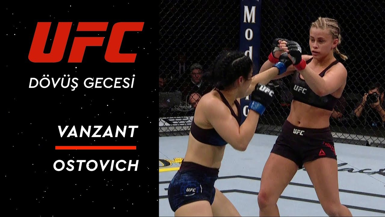 UFC Dövüş Gecesi 143 | VanZant vs Ostovich