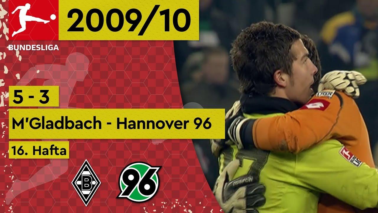 Mönchengladbach - Hannover 96 (5-3) - Maç Özeti - Bundesliga 2009/10
