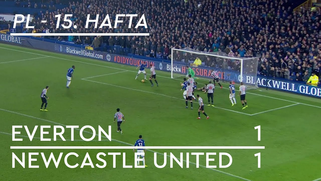 Everton - Newcastle United (1-1) - Maç Özeti - Premier League 2018/19