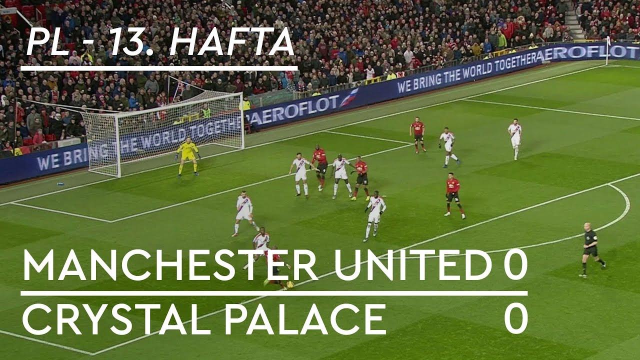 Manchester United - Crystal Palace (0-0) - Maç Özeti - Premier League 2018/19