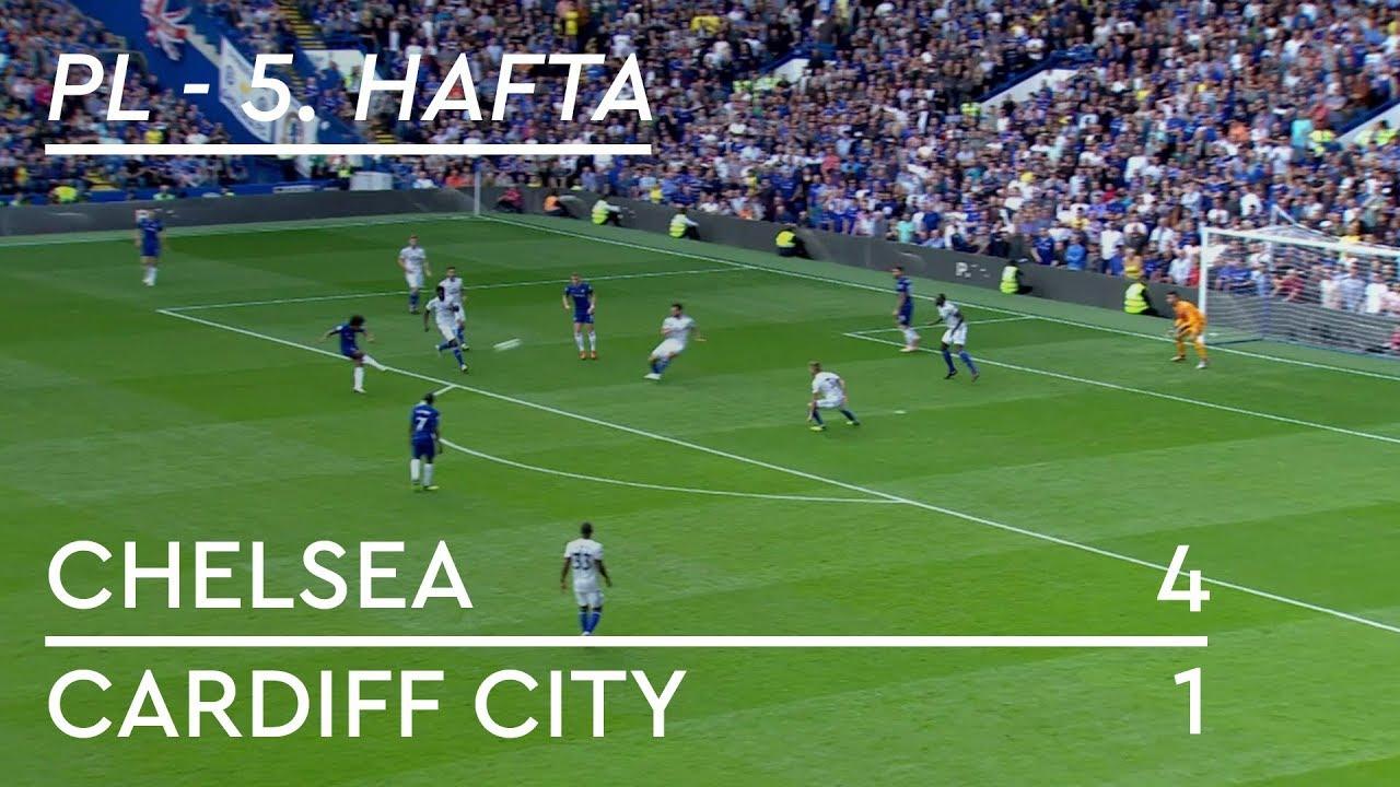 Chelsea - Cardiff City (4-1)  - Maç Özeti - Premier League 2018/19