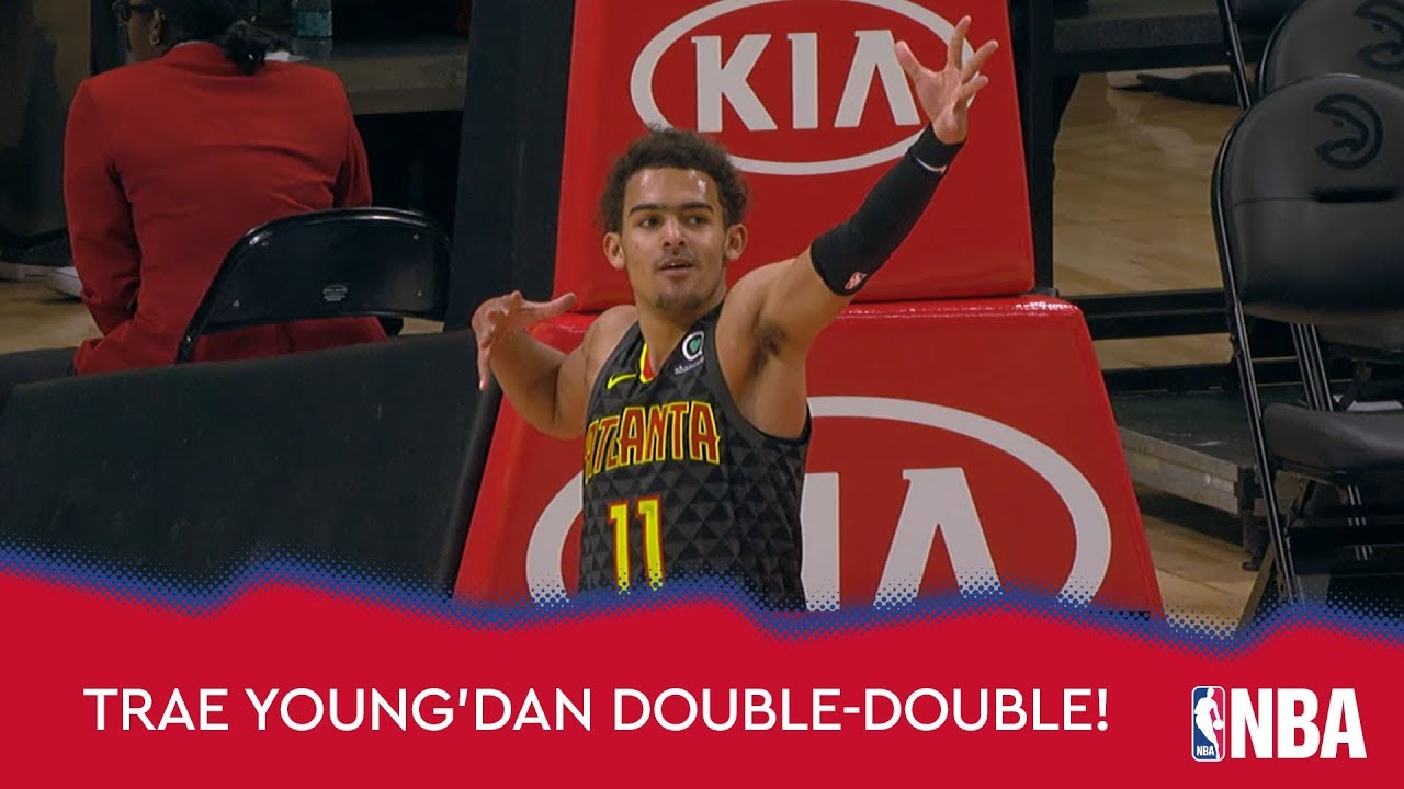 Trae Young'dan Double-Double!